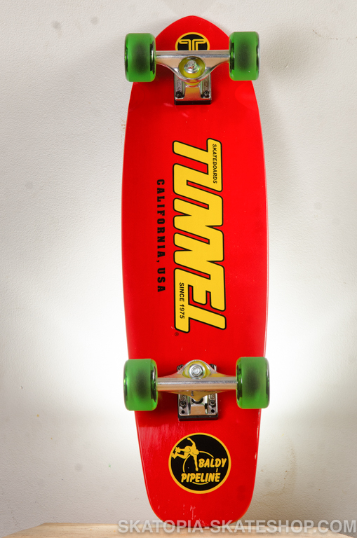 tunnel skateboard complete red